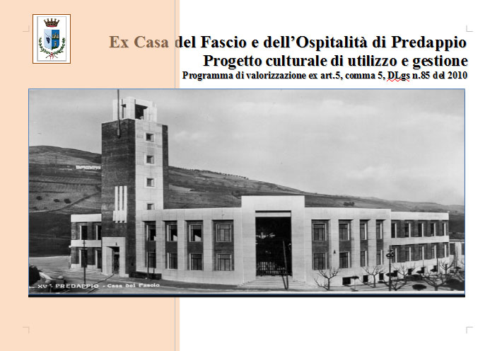 Progettazione Casa Programma : Programma di riutilizzo e gestione